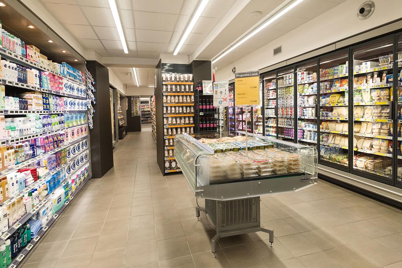 Pam Local - Supermercato via Boncompagni Roma - Cruciani Group