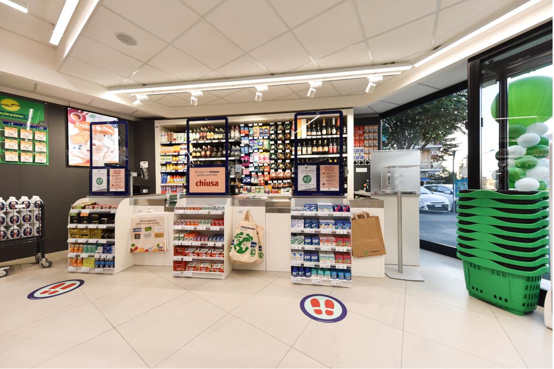 Supermercato Pam Local in Via Serafini Roma